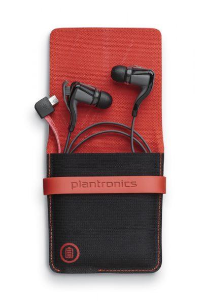 Ultra lette høretelefoner med etui til dig på farten