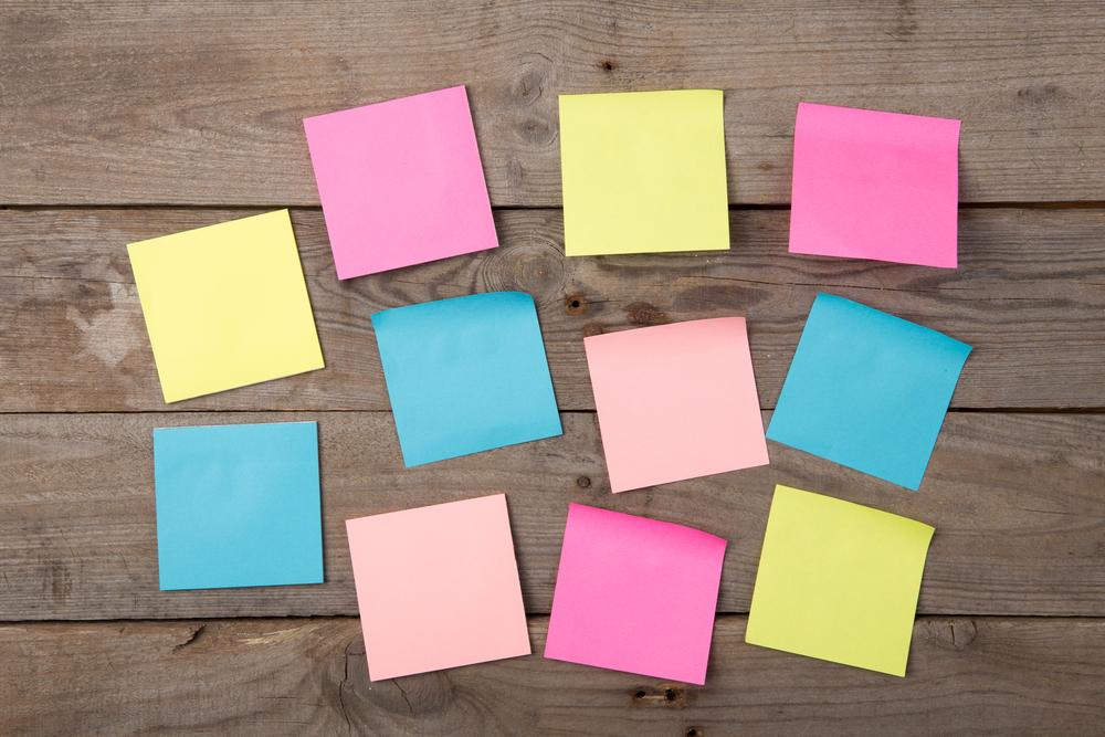 Optimer kommunikationen på arbejdspladsen med post-its